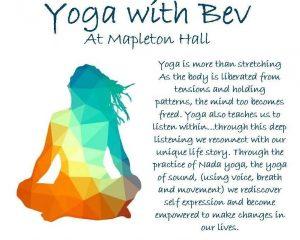 Yoga with Bev